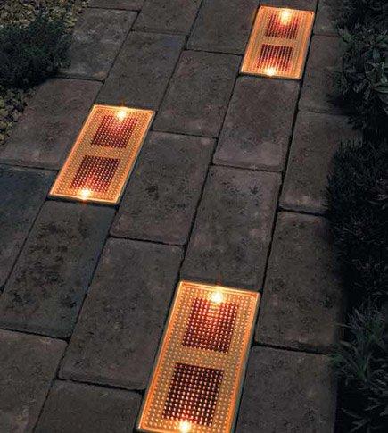 Cómo hacer ladrillos iluminados con energía solar