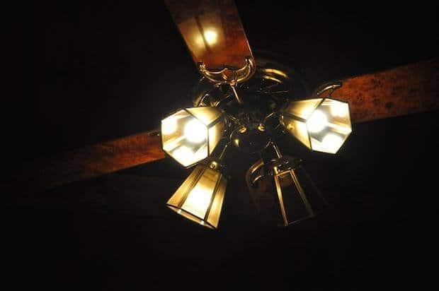 ahorro de energía con ventilador