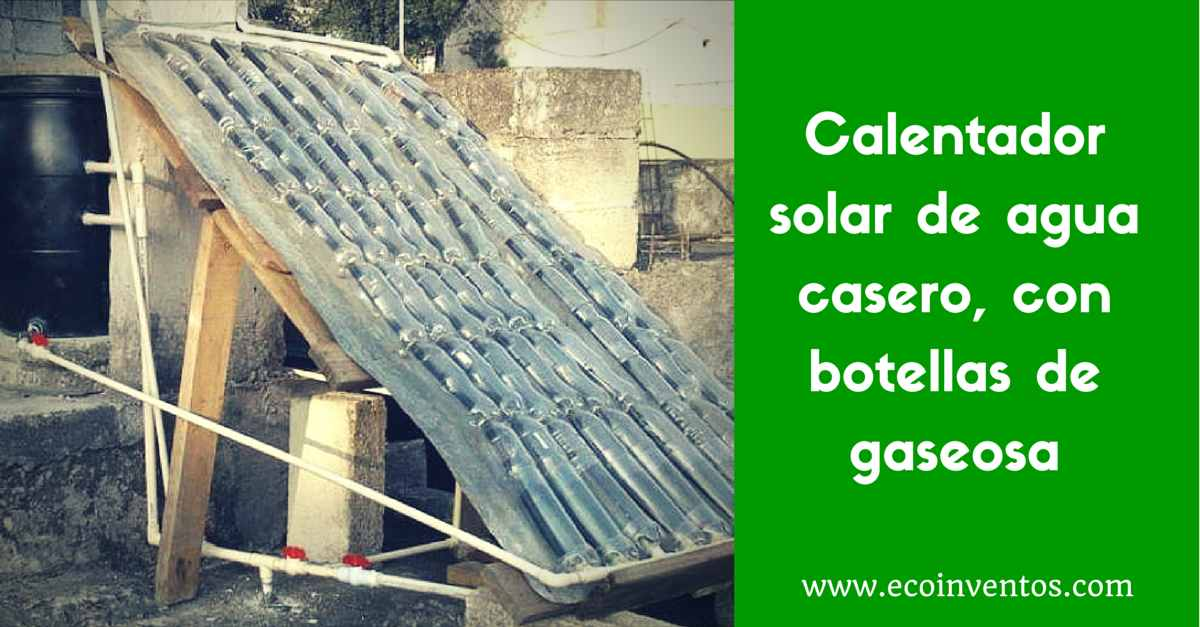 Botella De Agua Calentador solar de ag...