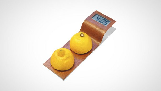 Citrus Clock