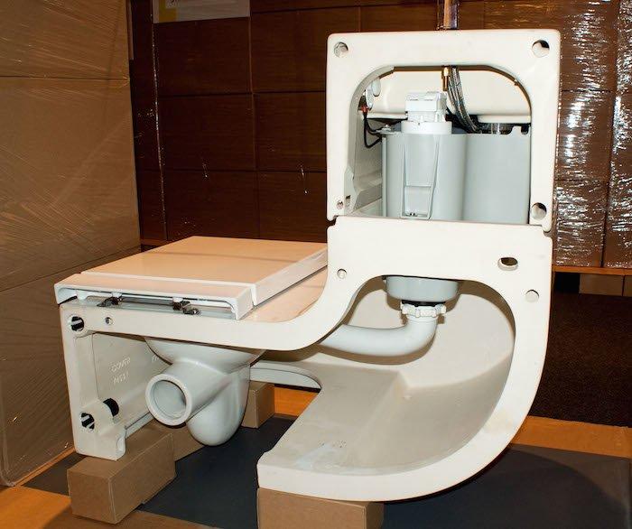 Inodoro que reutiliza el agua del lavabo - Inodoro y lavabo en uno ...