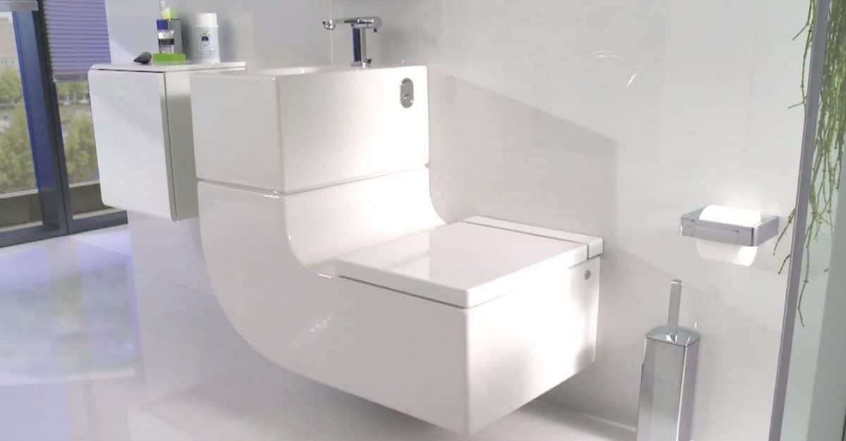 W+W, el inodoro que reutiliza el agua del lavabo