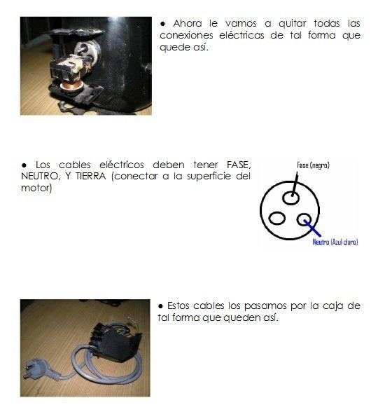 Construcción de compresor casero instrucciones 41
