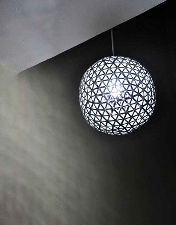 Tetrabox Lamp. Lámpara con tetrabriks