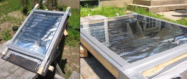 11 propuestas de calentadores solares caseros - Calentadores solares para piscinas ...