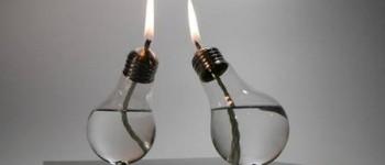Reciclaje de bombillas tradicionales.