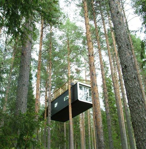 Treehotel, un nuevo concepto de hotel ecológico