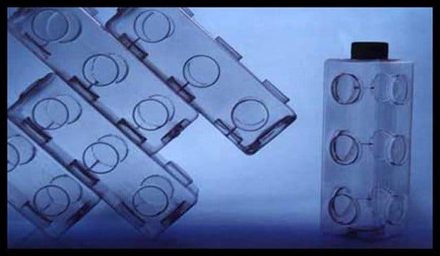 Envase Modular Interconectable de Usos Múltiples