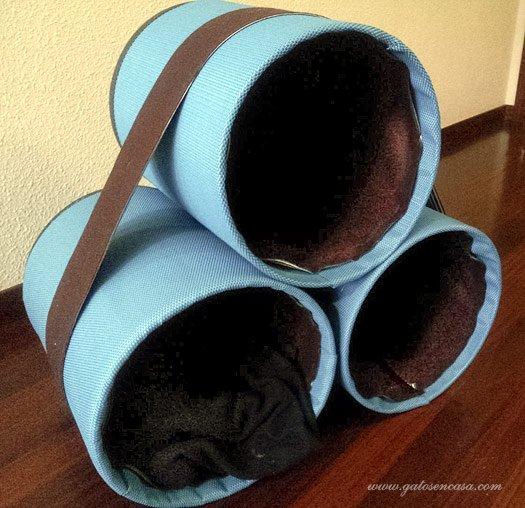 camas cueva con Tubos-1-gato