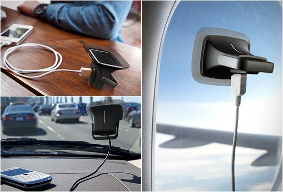 Quirky Ray. Cargador solar para Smartphones