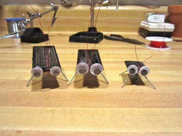 Como hacer una cucaracha solar casera