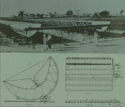primera planta solar de la historia