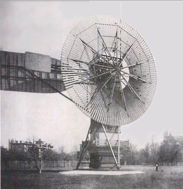Primera turbina eolica de la historia