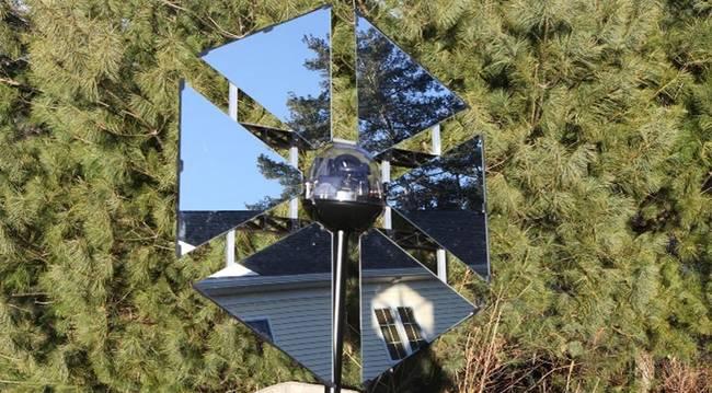 Heliostato SunFlower Home. Como orientar la luz solar