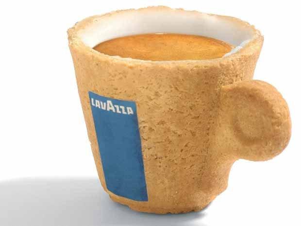 taza comestible café