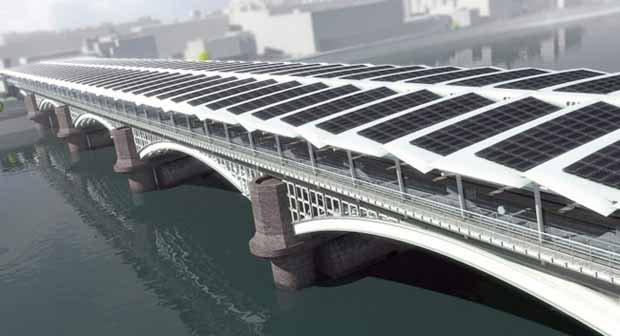 Blackfriars. El mayor puente solar del mundo