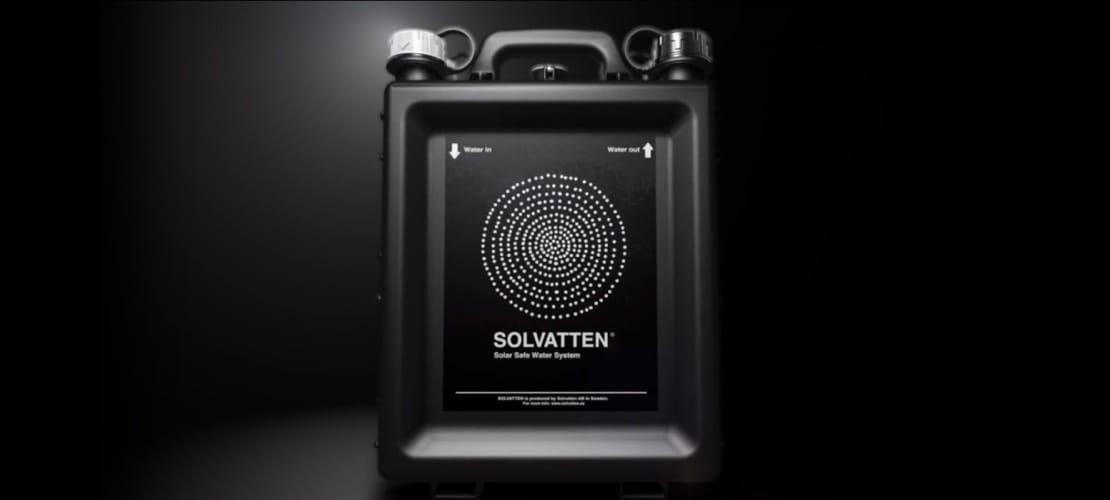 Solvatten: el purificador solar de agua que ya funciona en 20 países