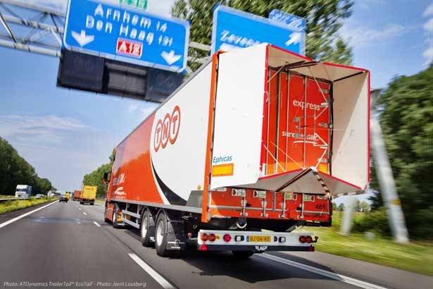TrailerTail. Aerodinámica para reducir el consumo de combustible en camiones