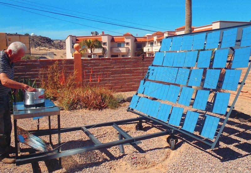 cocina solar casera phaeton