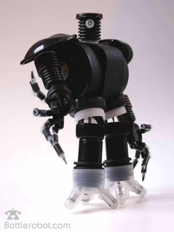 plástico algunos de los robots son autenticas obras de arte