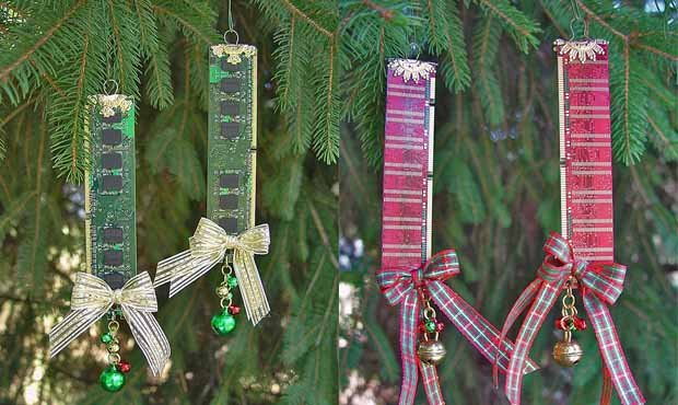 Decoración navideña con memorias RAM