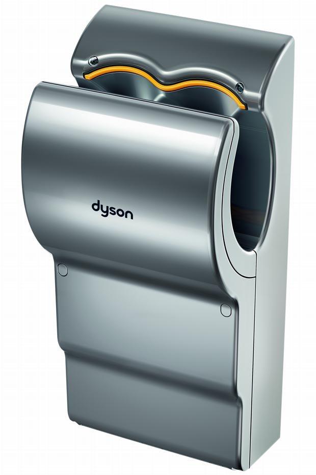 Dyson airblade ab05 el secador de manos m s sostenible - Secador de manos ...