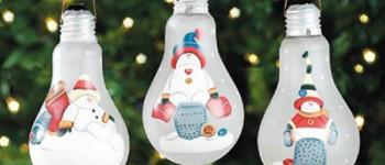 20 adornos navideños reciclando o reusando desechos