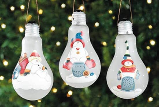 22 adornos navide os reciclando o reusando desechos - Adornos de navidad caseros faciles ...