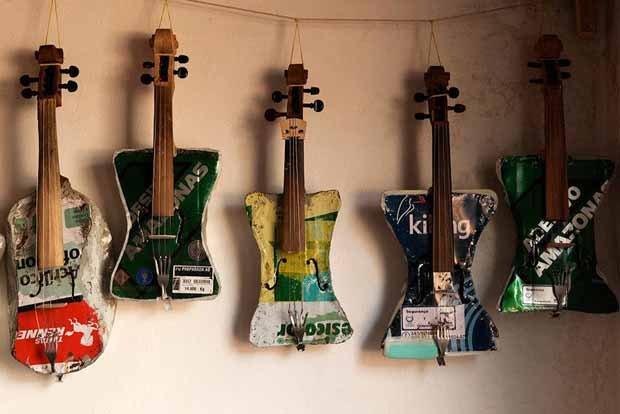 Landfill Harmonic. Música con basura