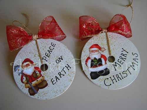 adornos ideas para tu rbol de navidad con materiales reciclados