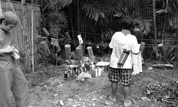 Altavoz de Bambú para smartphone