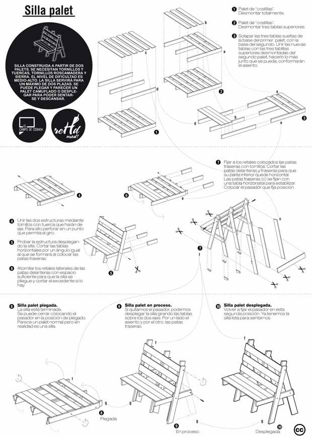 Planos para construir muebles reutilizando palets hazlo for Enchufes planos para detras muebles