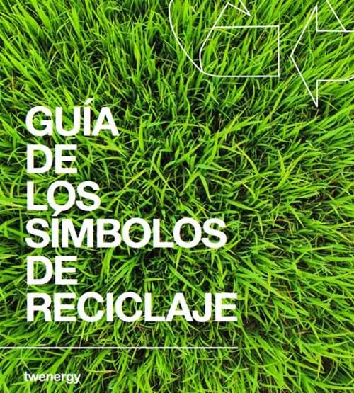 guía de símbolos del reciclaje