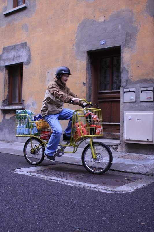 Camioncyclette. La bicicleta ideal para llevar bultos