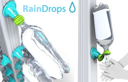Rain drops o como embotellar agua de lluvia - Recoger agua lluvia ...