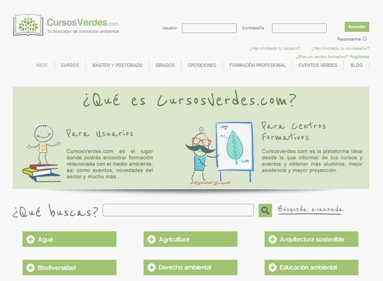 Buscador_CursosVerdes