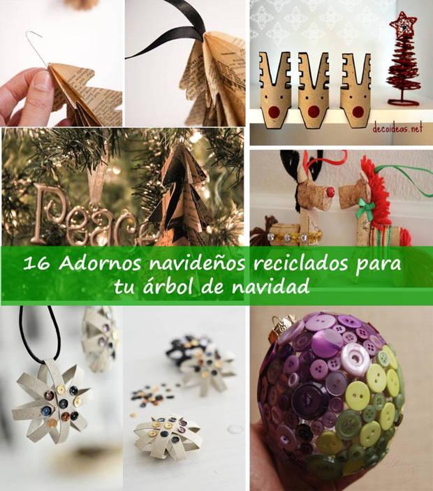 Decoracion reciclada para navidad - Adornos para navidad con pinas ...