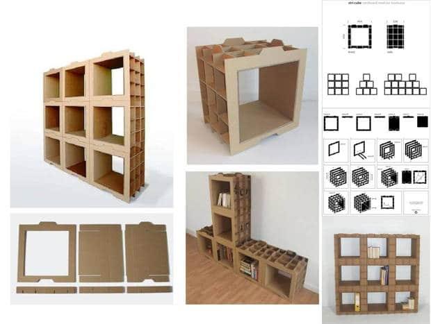 Asamblea por la liberaci n de espacios de alcal muebles - Muebles estanterias modulares ...