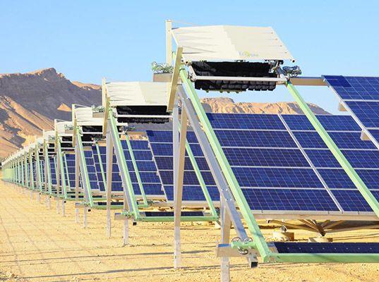 robot aumenta eficiencia de paneles solares