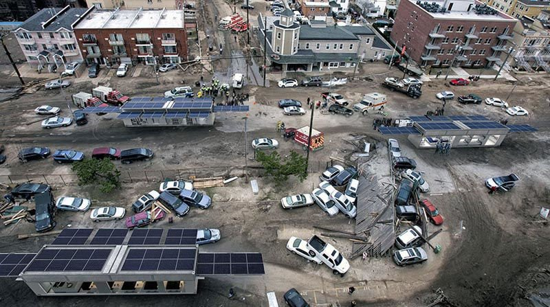 Ecos PowerCube desastres