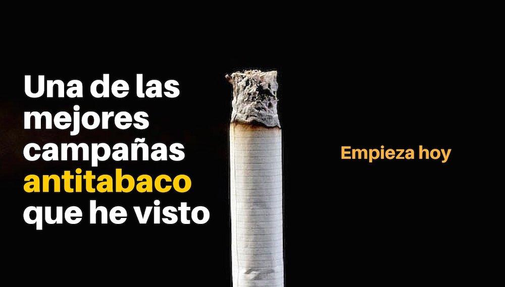 Una de las mejores campañas anti tabaco que he visto