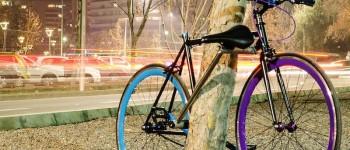 La primera bicicleta inrobable
