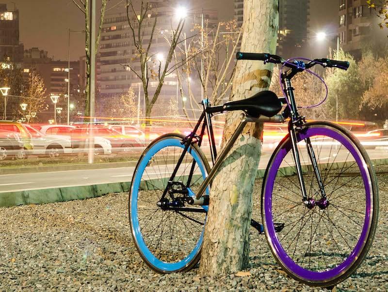 bicicleta inrobable