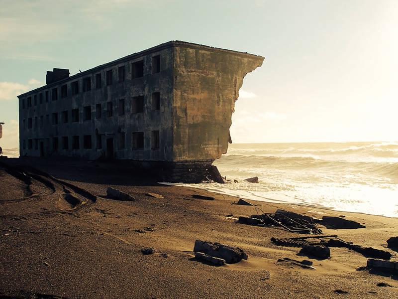 Ciudad abandonada por los pescadores