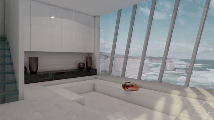 Preciosa casa integrada totalmente en un acantilado2