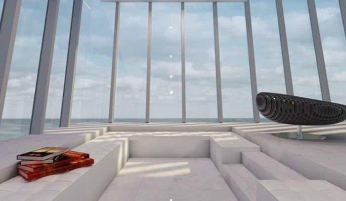 Preciosa casa integrada totalmente en un acantilado3