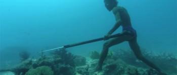 El hombre que andaba bajo el mar