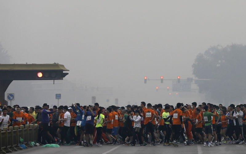 contaminacion maraton de pekin1