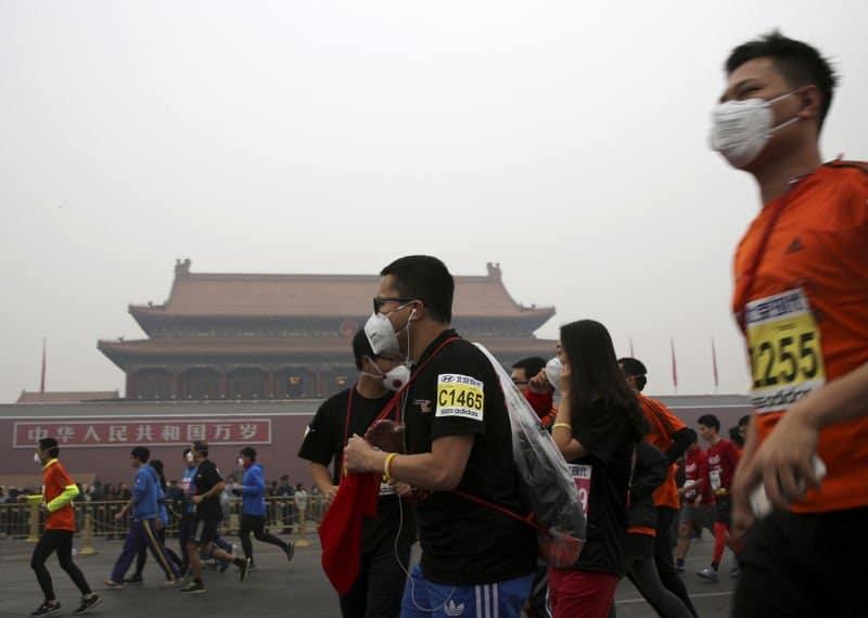 contaminacion maraton de pekin2