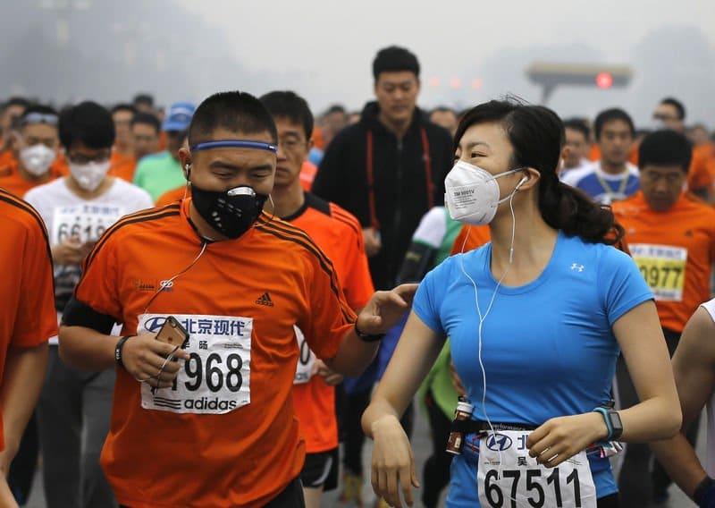 contaminacion maraton de pekin4